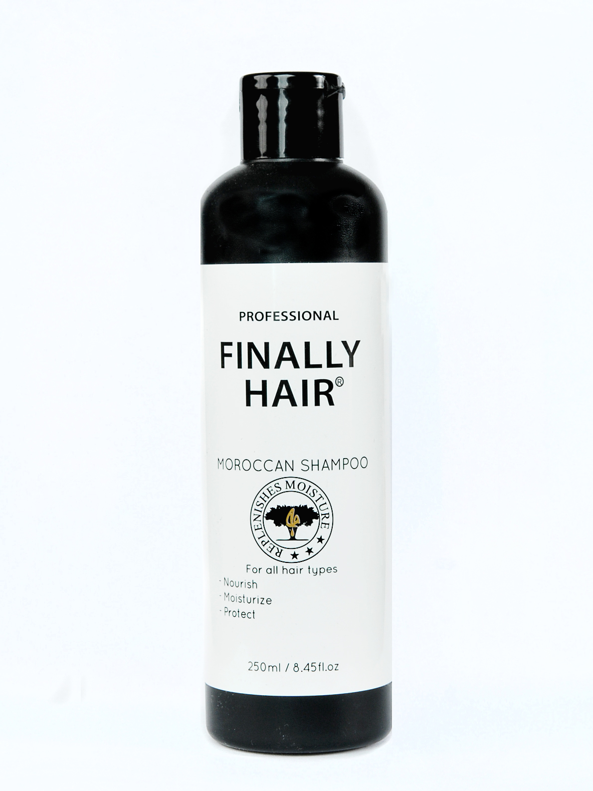 Moroccan Argan Shampoo by Finally Hair