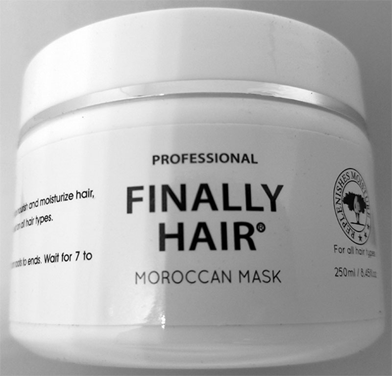 Moroccan Hair Mask Treatment by Finally Hair