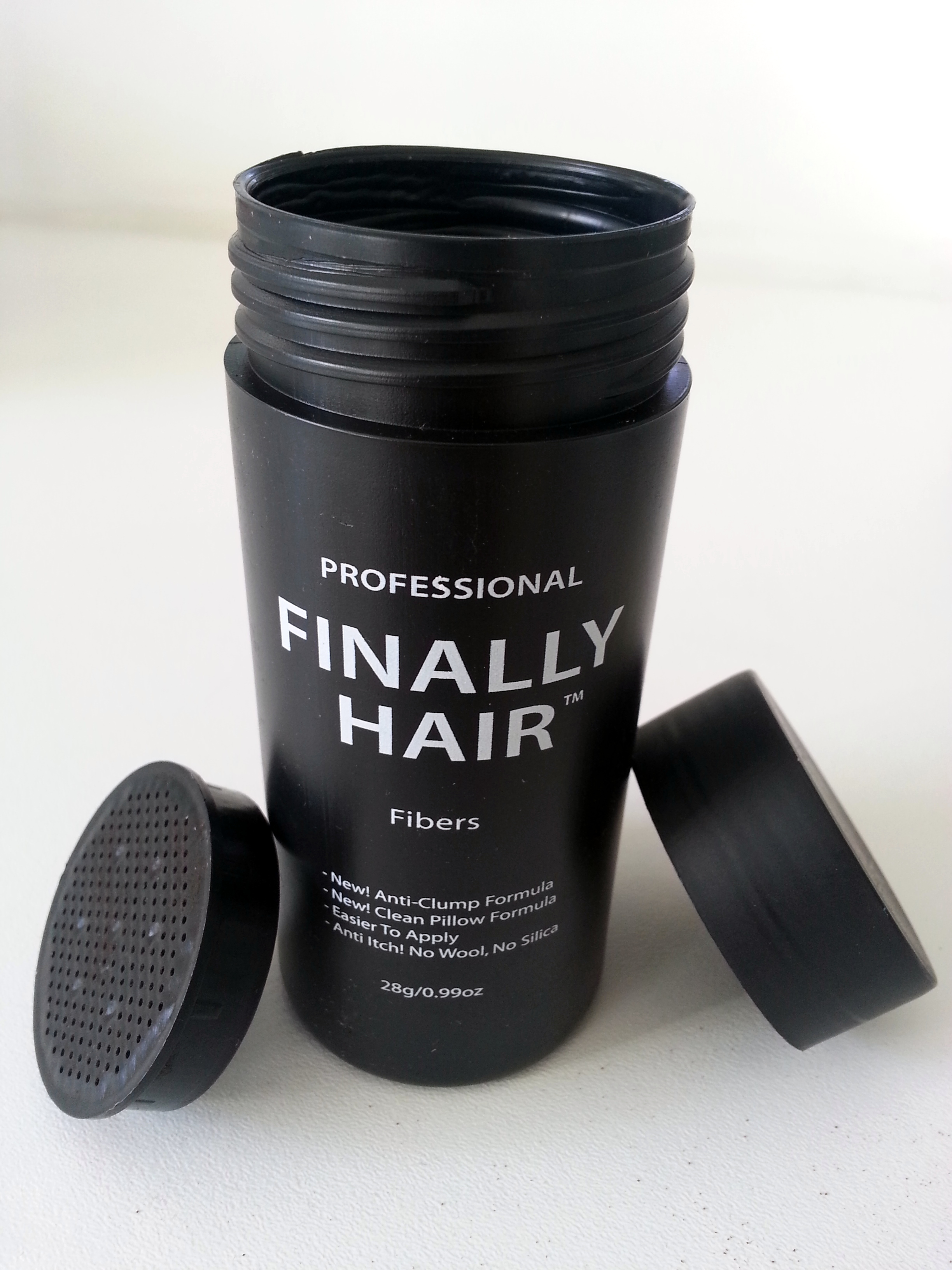 Hair Fiber Empty Finally Hair Fiber Applicator Bottle