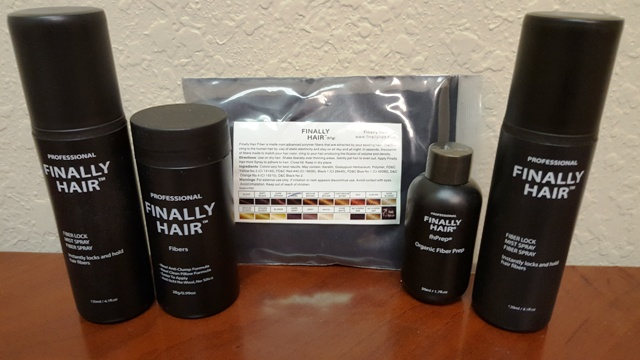Hair Fibers Ultimate Kit - Bottle, Refill, fhPrep & Fiber Sprays